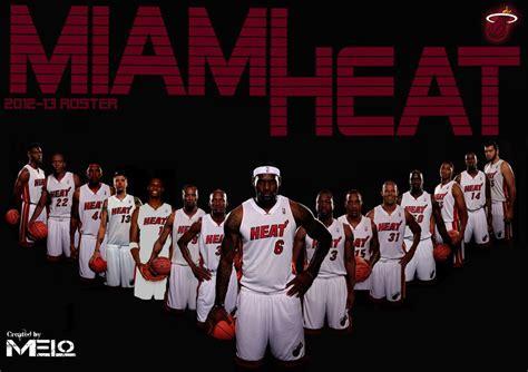 miami heat 2012 2013 roster genius