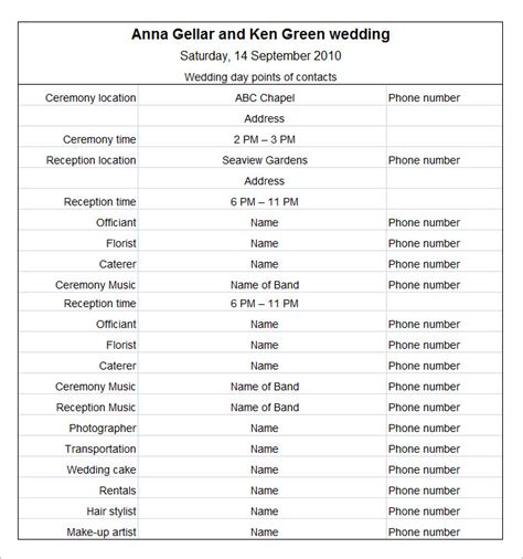Wedding Schedule Templates 29 Free Word Excel Pdf Psd Format Download Free Premium Sle Wedding Day Itinerary Template