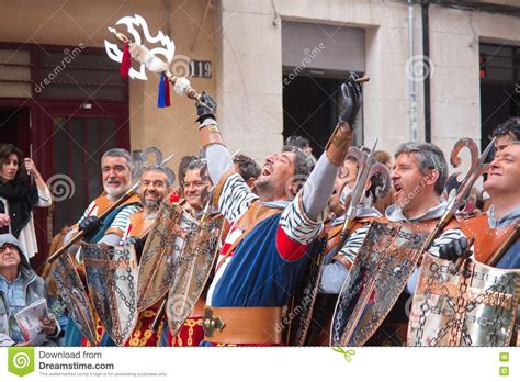 christians vs moors parade in alcoy editorial stock photo image 72411813