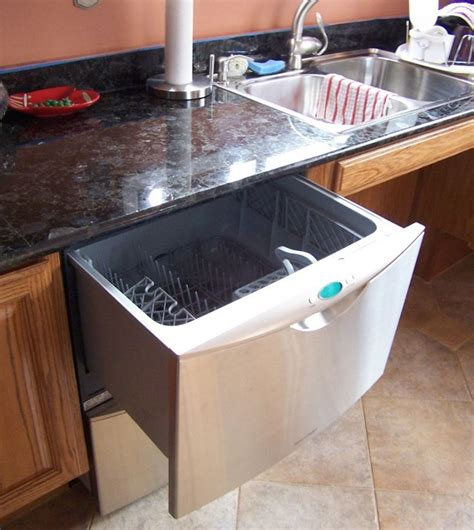 get tidy kitchen with the best dishwasher drawer roll