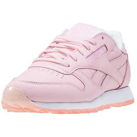 reebok classic womens trainers pink new shoes ebay