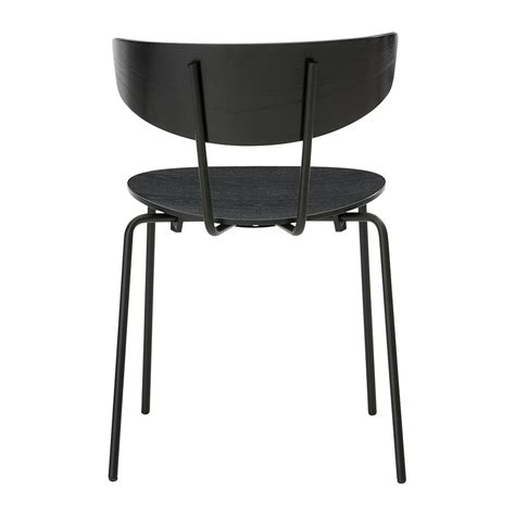 Herman Chair by Buy Ferm Living Herman Chair Black Amara