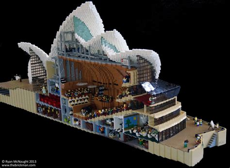lego builders recreate sydney opera house the escapist