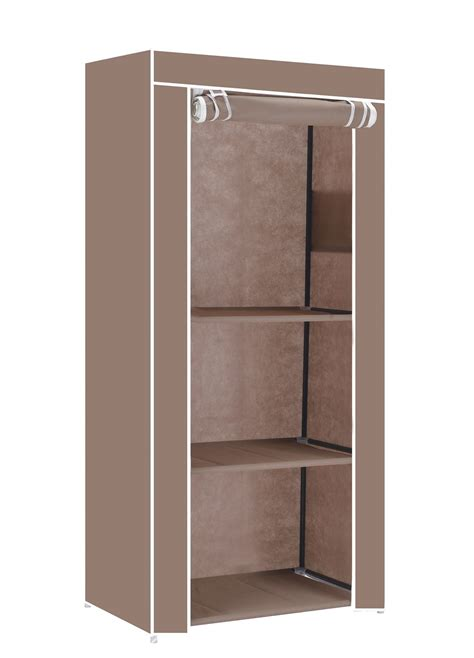 Wardrobe Shelf Organiser by Single Canvas Clothes Storage Organiser Wardrobe Cupboard