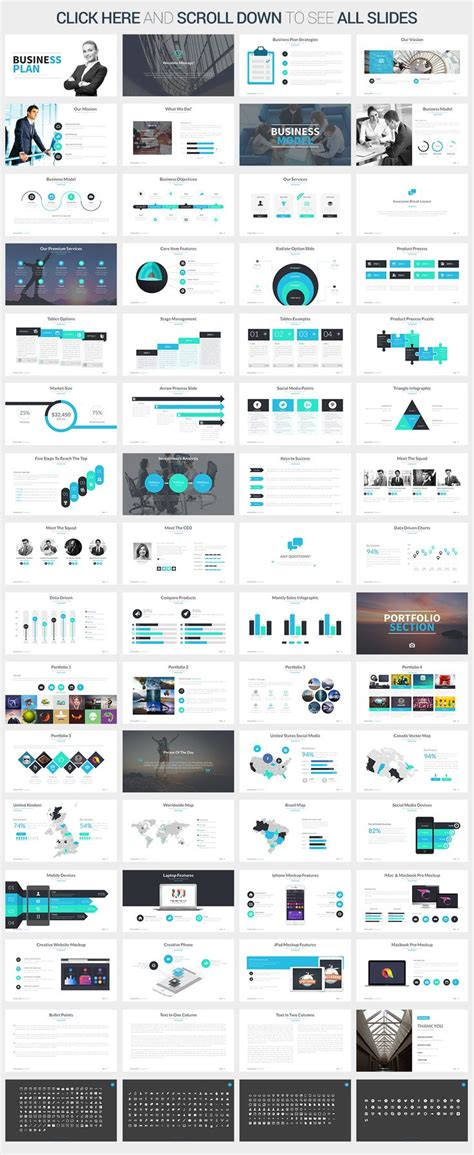 powerpoint template create best 25 business plan presentation ideas on