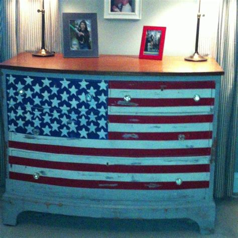 American Flag Dresser by 19 Best Images About Americana White Blue Furniture N
