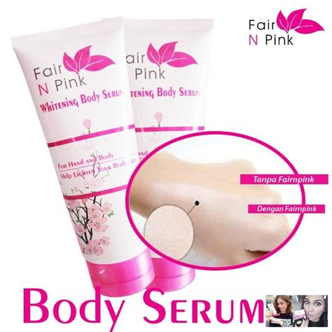 Fair N Pink Serum Review fair n pink whitening serum