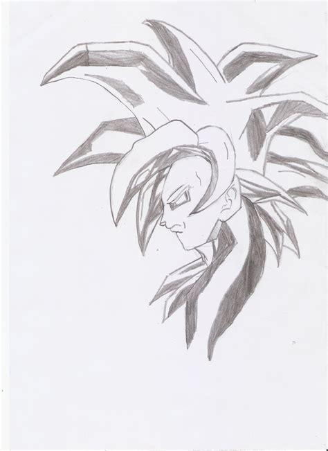 imagenes de goku ssj4 para dibujar mi dibujo de gok 250 ssj4 paso a paso arte taringa