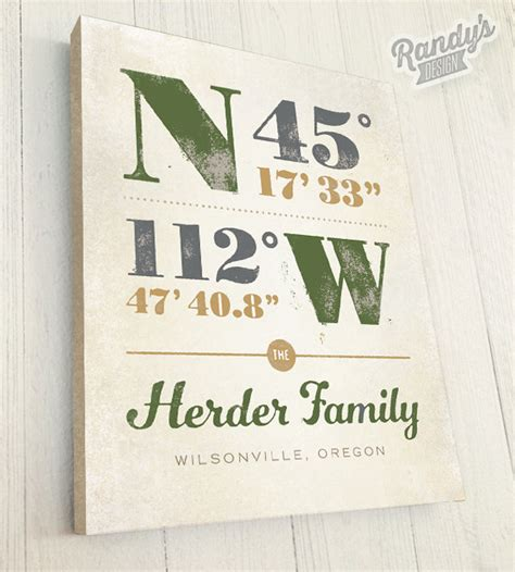 personalized housewarming gifts housewarming gift personalized latitude and longitude