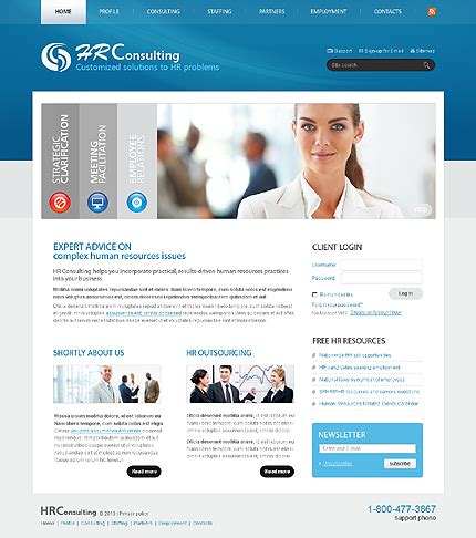 Consultant Website Templates Free Download Programs Moviemanager Consulting Website Template