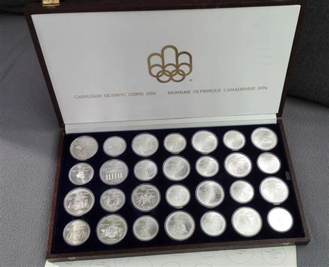 10 Dollar Silver Coin 1976 by Canada 5 10 Dollars 1973 1976 Montreal Olympics 28