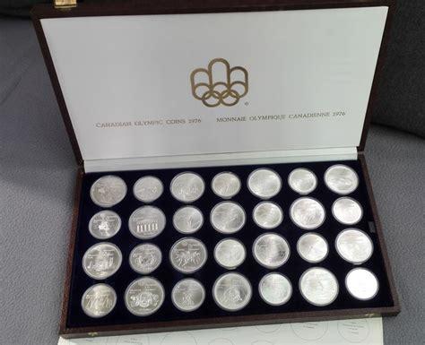 10 Dollar Silver Coin 1976 - canada 5 10 dollars 1973 1976 montreal olympics 28