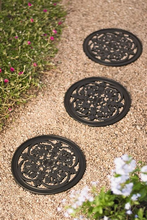 recycled rubber flagstone stepping recycled rubber paver stepping gardener s
