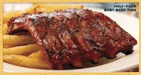 Half Rack Of Baby Back Ribs chili s grill and bar restaurants connection