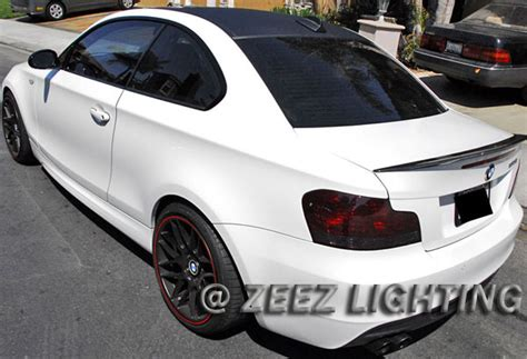 smoked out tail lights smoke black out taillight tint smoked head fog tail light