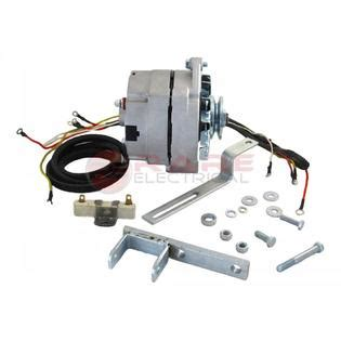 rareelectrical new ford naa tractor alternator fits