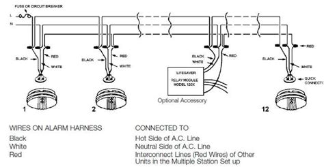 wiring ceiling smoke alarm wiring free engine image for