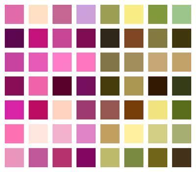 tavola colori pareti combinazioni di colori per pareti decorare casa