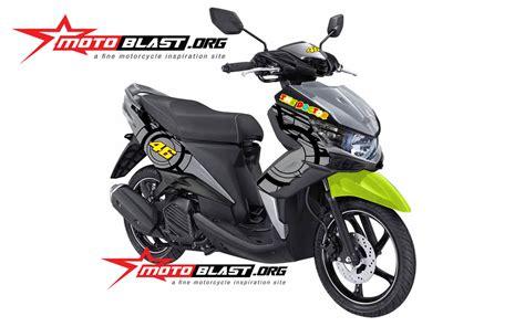 Lu Depan Xeon Gt 125 Eagle Eye modif yamaha xeon gt125 eagle ala vr 46 motoblast