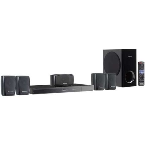 panasonic sc xh150 dvd home theater system 5 1 channel