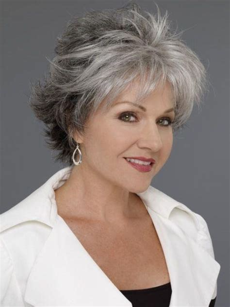 gray hair at 60 years 15 collection of short hairstyles for 60 year old woman