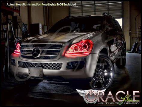 mercedes headlights at oracle 07 12 mercedes gl ccfl halo rings headlights bulbs
