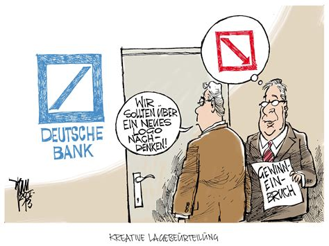 deutsche bank worms gewinneinbruch archives janson karikatur