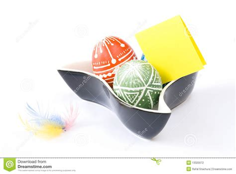 handmade easter eggs stock photography image 13320072