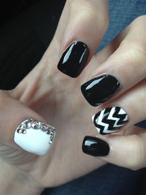 nail art for february for women over 40 40 classy black nail art designs for hot women