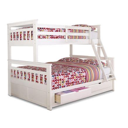 double twin bunk bed springsdale twin over double storage bunk bed sears