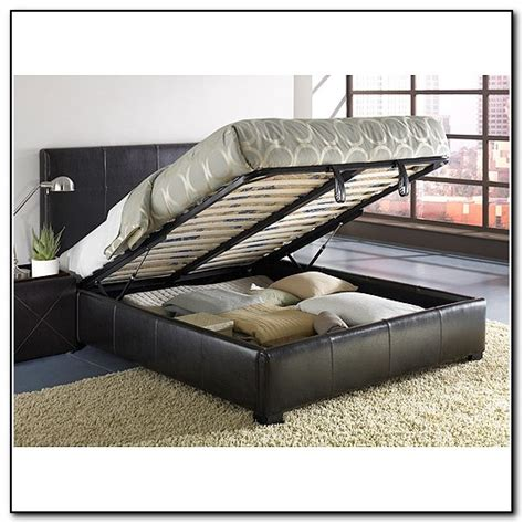 full size storage bed frame full size bed frame with storage underneath beds home