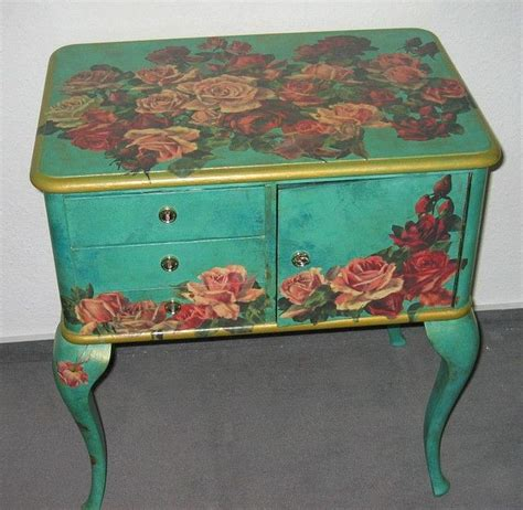 how to decoupage on furniture best 25 decoupage table ideas on decoupage