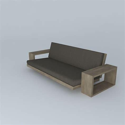 custom futons custom futon 2 3d model max obj 3ds fbx stl dae cgtrader com