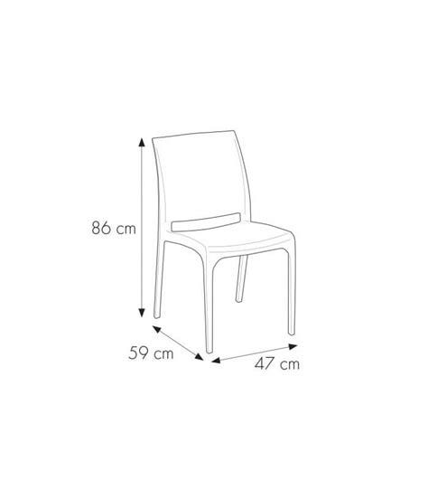 sedie giardino esterni sedia da giardino impilabile effetto rattan in