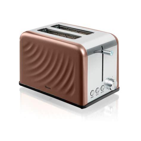 Copper Toaster Swan Twist St19010twn 2 Slice Toaster Copper Ebay