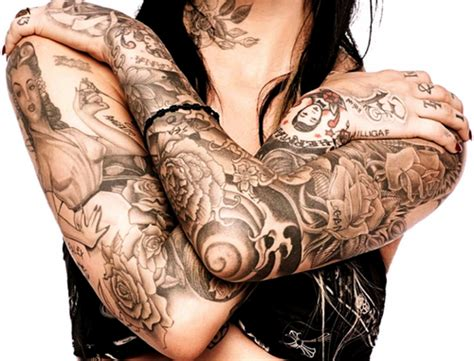 sleeve tattoo black and white image best tattoos ideas and