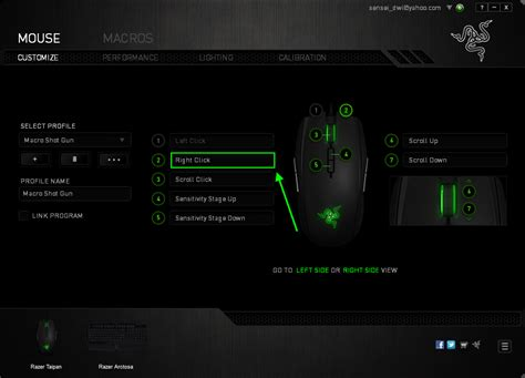 Mouse Macro Untuk Pb cara setting macro pointblank mouse razer