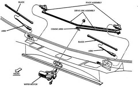 windshield wiper blade cowl removal 1992 dodge d150 club 1993 dodge ram d250 truck windshield wiper turned on wiper