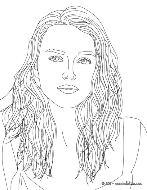 coloring page person keira knightley coloring pages hellokids com