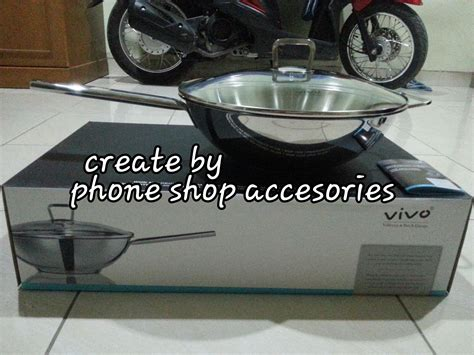 Wajan Vivo jual wajan bertutup 30cm vivo hypermart phone shop