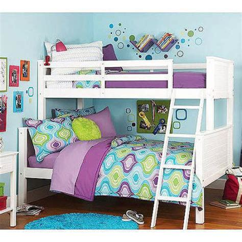 Bunk Beds For Boys With Stairs Size Bunk Beds Stairs Boys Wooden White Headboard New Ebay