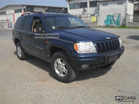 Jeep Grand 2000 Road 2000 Jeep Grand 3 1 Td Limited Using Export