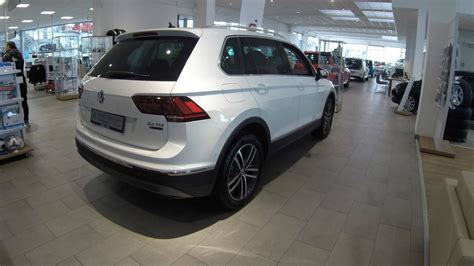 volkswagen tiguan white 2017 vw tiguan 2 0 tdi highline model 2017 white