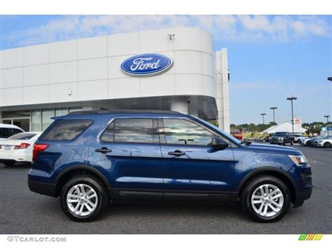 2016 ford explorer blue 2016 blue metallic ford explorer 4wd 106363073