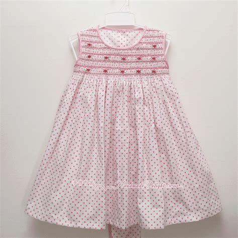 Handmade Smocked Dresses - handmade delight smocked dress acacia