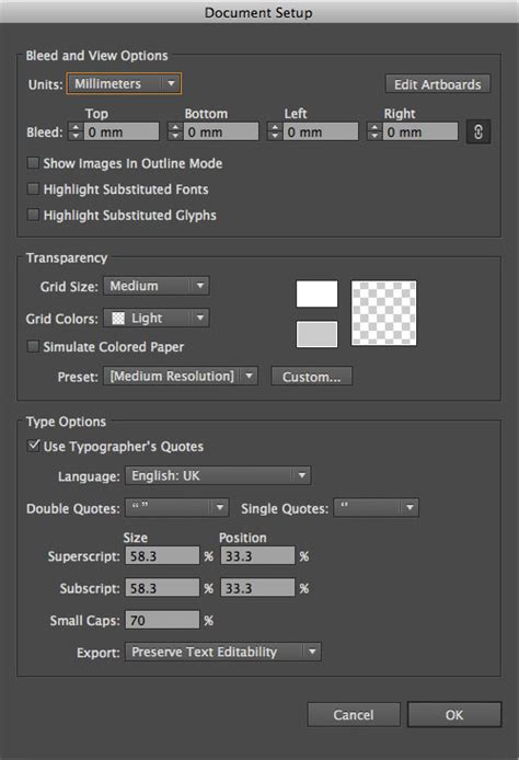 illustrator pattern options greyed out how to change document size in illustrator