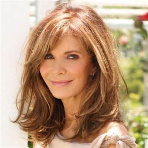 hairstyles with fringers for older women medium length hairstyles via hairmotive com hair make