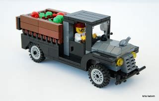 Lego Truck Can Change Car netherbrick august 2011
