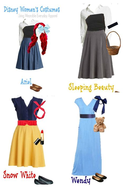 Costumes Already In Your Closet by Disney Costumes Using Items In Your Closet