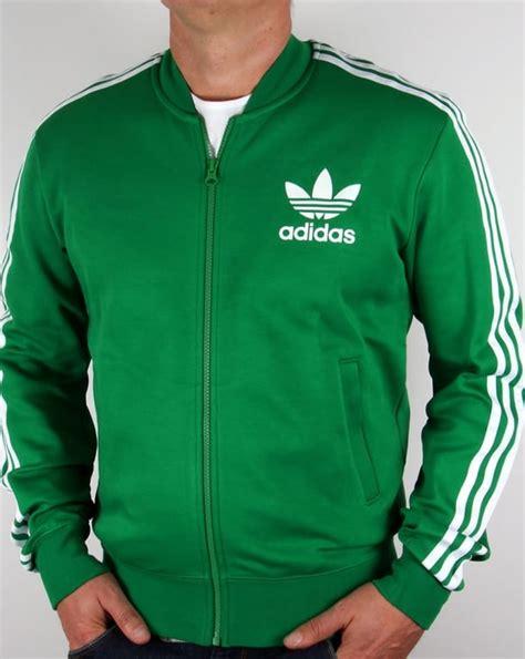 Adidas Tracking Green adidas originals superstar track top green white tracksuit adicolour